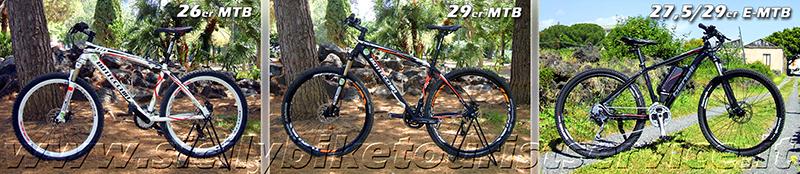 MTB- E-MTB Sicily Bike Tourist Service